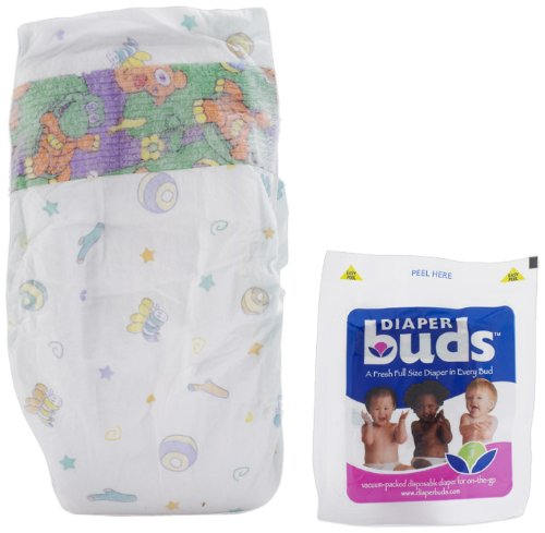 Diaper Buds; space saving, full sized nappies!