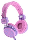 Moki Kid Safe Volume Limited Headphones - Pink & Purple
