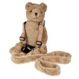 Fluffy Bear - 2 in 1 harness buddy