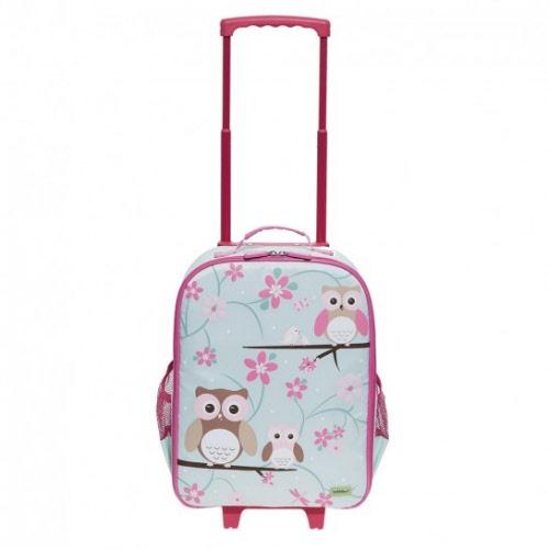 Bobble Art Child Trolley Suitcase - Owl