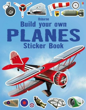 Build Your Own - Sticker Book - Planes