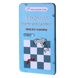 Magnetic Snakes and Ladders Travel Game