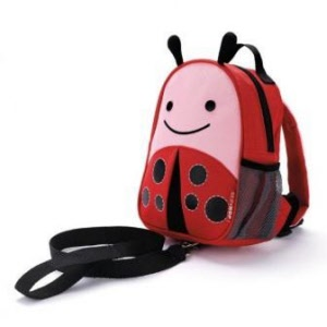 Skip Hop Mini Backpack with Rein - LadyBug