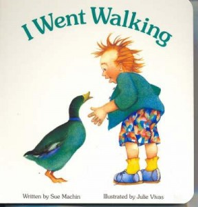 I Went Walking_board book